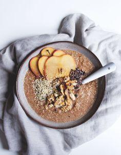 Apfel-Zimt Quinoa Frühstück | www.juyogi.com
