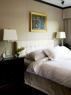 Bedroom Serene Bedroom, Bedroom Eyes, Upholstered Walls, New England Homes,  Penthouse Apartment