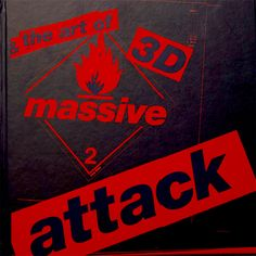 3D AND THE ART OF MASSIVE ATTACK LARGE FORMAT HARDBACK BOOK