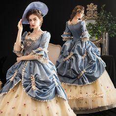 Victorian Ball Gowns, Victorian Era Dresses, Victorian Fashion, Victorian Evening Gown, Victorian Outfits, Victorian Ladies, Old Fashion Dresses, Old Dresses, Pretty Dresses