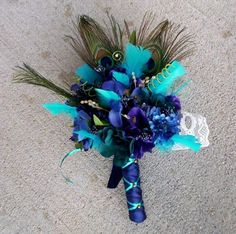 Bouquet wrapping idea