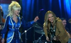 Melissa Etheridge and Dolly Parton
