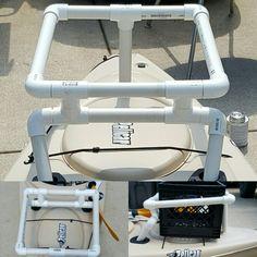 MK 1 DIY Kayak Crate Bracket