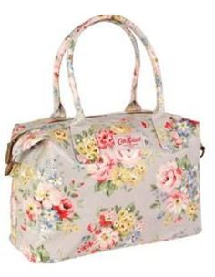 Spring Bouquet Zipped Handbag from Cath Kidston.  Spring most definitely feels like it's in the air with this lovely handbag.