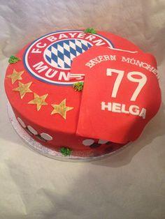 Bayern München Torte- soccer cake