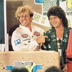 Sammy Hagar and Eddie Van Halen