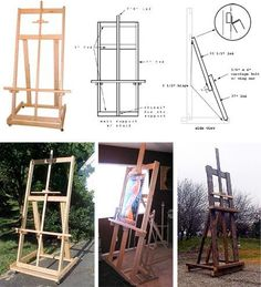 Build Your Own Easel- plans from Ben Grosser