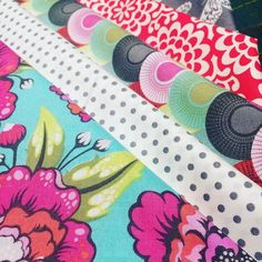 I'm utterly and completely in love with this fabric! I'm not so sure I want to…