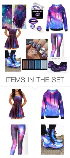 """galaxy!!!!!"" by shadowwolfclan ❤ liked on Polyvore featuring art"