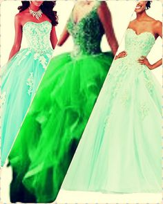 Mint Quinceanera dress- These insider tips from social gatherings party planners will allow you to find the perfect Mint Quinceanera dress quickly! Mint Quinceanera Dresses, Young Female, Dress Making, Girl Birthday, Ball Gowns, Most Beautiful, Dress Up, Fancy, Princess