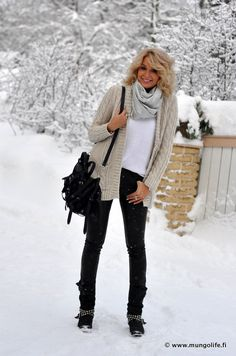 Boots, Leather Pants Melbourne, H Bag, Alexander Wang Sweater, Crochet tank top Zara, H Neck Gaiter, Ginatricot Jacket, ONLY