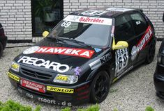 citroen saxo vts track day car