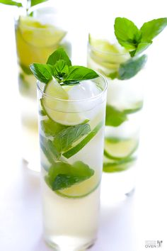 Gimme Some Oven | Ginger Beer Mojito | http://www.gimmesomeoven.com