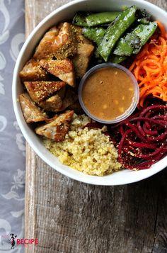 Keto Recipes, Vegetarian Recipes, Healthy Recipes, Plats Healthy, Rainbow Food, Poke Bowl, No Cook Meals, Food Photo, Meal Prep