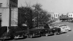 Waco City Square around City Hall, by Fred Gildersleeve, 1950 by The Texas Collection, Baylor University, via Flickr