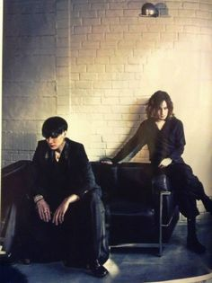 Toshiya & Kaoru. Dir en Grey.
