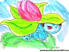 Ivysaur/フシギソウ  from Pokémon/ポケモン