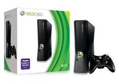 XBOX 360 4GB Slim with Kinect Bundle