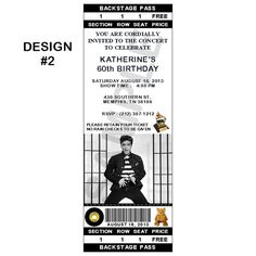 12 Personalized Elvis Presley Party Invitations by R3DOXIES