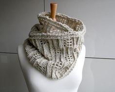 Ladder loop cowl crochet pattern 233   Craftsy $4.99