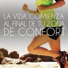 Toma acción, vence la pereza, sal de tu zona de confort #Entrenar #Fitness #EstarEnForma img #Pinterest