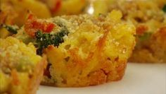 From our friend, Giada De Laurentiis - Baked Macaroni and Cheese Cupcakes.
