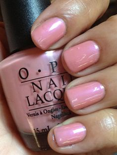 The Queen of the Nail: OPI Hawaiian Orchid Nail Color