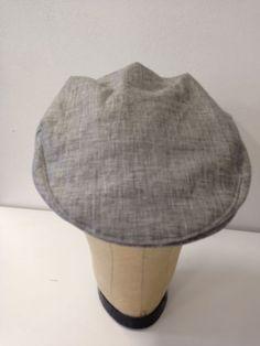 "Summer flat cap- ""smoke"" | Serena Lindeman Millinery Summer Flats, Flat Cap, Men's Hats, Hats For Men, Smoke, Fashion, Vape, Moda, Pillbox Hat"