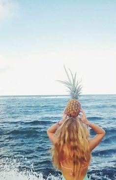 Pineapple. Image via: http://muffytakesmanhattan.tumblr.com/post/118078966120/x #SecurCareSpringEscape