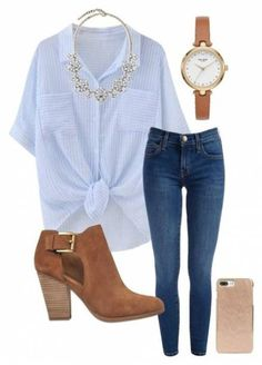 40 Warm Weather Street Style Ideas For Work - Shirt Casuals - Ideas of Shirt Casual - Stylish Outfits Casual Fall Outfits, Stylish Outfits, Spring Outfits, First Date Outfit Casual, Teen Girl Fashion, Womens Fashion, Ladies Fashion, Look Fashion, Autumn Fashion