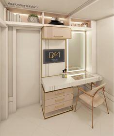 50 Trendy decor office home color schemes Teen Room Makeover, Dressing Table Design, Appartement Design, Cute Room Decor, Vanity Room, Girl Bedroom Designs, Beauty Room, Dream Rooms, New Room