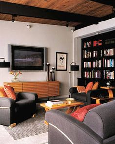 Media Room Inspirations - ELLE DECOR