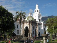Catedral Primaria, Quito, Ecuador.