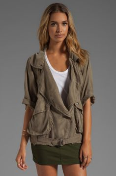 Lovers + Friends for REVOLVE Fun Times Jacket in Camo