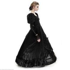 Punk Rave Gothic Hochzeit Abendkleid Victorian Samt Ball Kleid Prom Dress LQ071 in Kleidung & Accessoires, Damenmode, Kleider | eBay