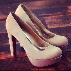 Nude heels   # Pin++ for Pinterest #