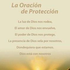 Oración de Protección,,.. Leerla todos los días...