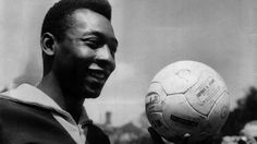 Herói no mundo Pelé.