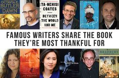 12 Famous Writers Told Us About The Book They're Most Thankful For