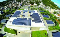 Maior usina solar integrada a um edifício da América Latina é inaugurada em SC