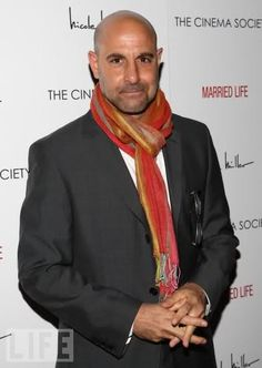 Stanley Tucci. My favorite :-)/....Talented, funny actor.  Shall We Dance w/Richard Gere and Jennifer Lopez; Hunger Games w/Jennifer Lawrence and Donald Sutherland