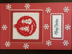 Joyeux Noël. Cartes de voeux au point de par MargaretCrossStitch