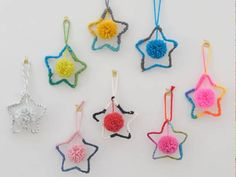 Christmas is all about enjoying quality family time together. Here are 9 easy-peasy DIY Christmas tree decorations you can make with your kiddies at home. Alternative Christmas Tree, Diy Christmas Ornaments, Handmade Christmas, Christmas Tree Decorations, Christmas Trees, Kids Christmas, Diy Christmas Crackers, Candy Cane Reindeer, Star Ornament