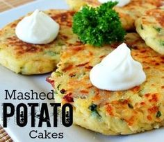 Oven Baked Mashed Potato Cakes Are Delicious   The WHOot