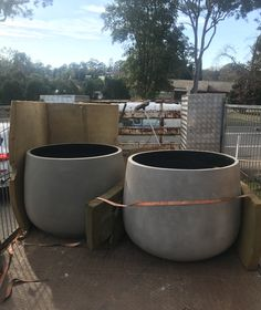 When it comes to large oversized garden planters Factory Direct Pots are your one stop destination. Huge range available as well as Custom Commercial Planters Orders Welcome. Ph: 1300 730 269 Australia Wide or International ph: 2 96513971 Large Indoor Planters, Large Garden Pots, Tree Planters, Large Plant Pots, Large Flower Pots, Outdoor Planters, Diy Planters, Large Concrete Planters, Large Terracotta Pots