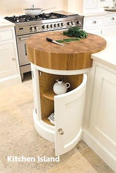 Coolest Idea Ever. Just a small spot to help prevent undue scratches if anyone is TEMPTED to cut anything WITHOUT a cutting board. Painted Kitchens - Painted Bespoke Kitchens - Tom Howley Most Popular Kitchen Design Ideas on 2018 & How to Remodeling Tom Howley, Kitchen Tops, Kitchen Small, Kitchen Corner, Island Kitchen, Kitchen Worktops, Country Kitchen, Small Kitchen Islands, Kitchen Sinks