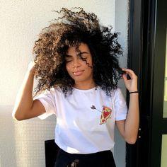 Cara de doida mas amei meu cabelitcho  - Camiseta fofa da coleção MODICES (@chicorei )
