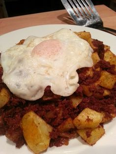 Slimming World Delights: Corned beef Hash