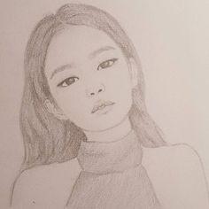 Jennie - BLACKPINK - #fanart #blackpinkfanart #blackpink #jennie #jenniekim #kpopfanart #kpop #drawing