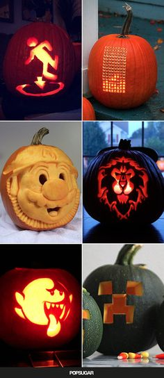Pin for Later: The Only Pumpkins a Gamer Needs on the Porch This Halloween
